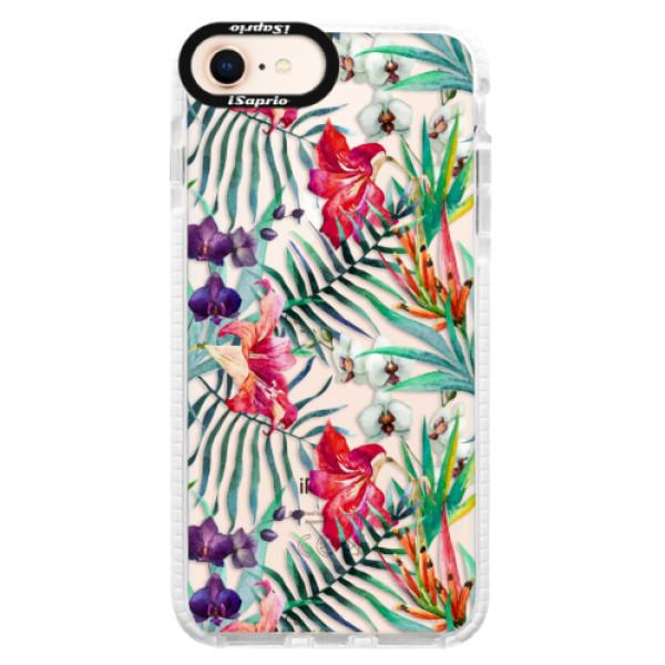 Silikónové púzdro Bumper iSaprio - Flower Pattern 03 - iPhone 8