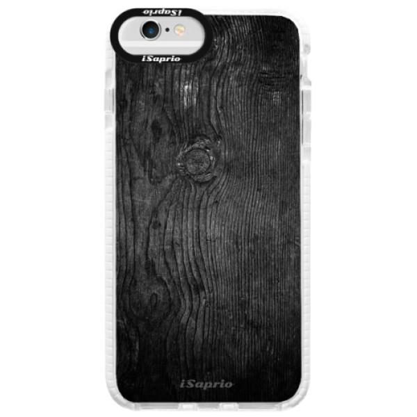 Silikónové púzdro Bumper iSaprio - Black Wood 13 - iPhone 6 Plus/6S Plus