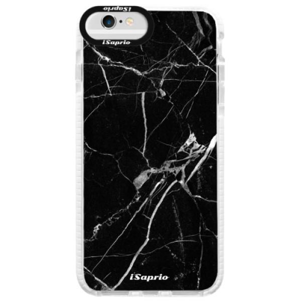 Silikónové púzdro Bumper iSaprio - Black Marble 18 - iPhone 6 Plus/6S Plus