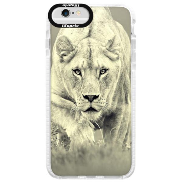 Silikónové púzdro Bumper iSaprio - Lioness 01 - iPhone 6 Plus/6S Plus