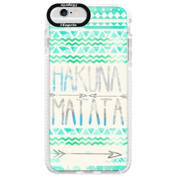 Silikónové púzdro Bumper iSaprio - Hakuna Matata Green - iPhone 6 Plus/6S Plus