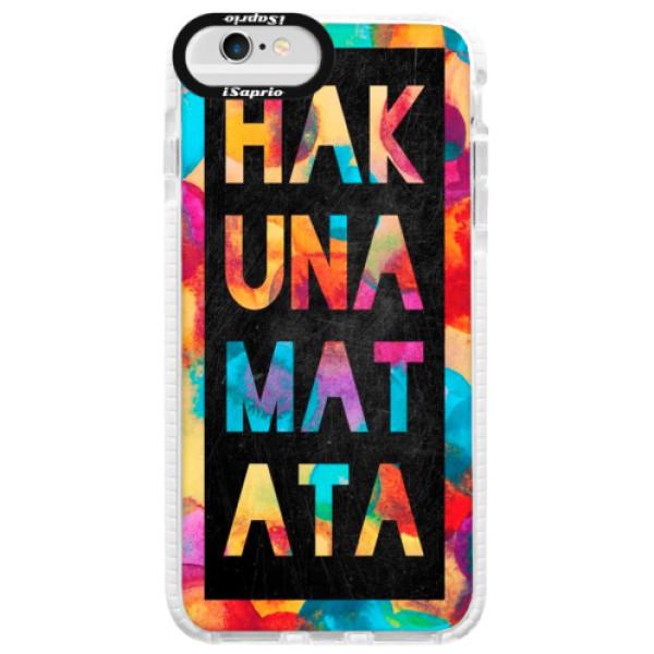 Silikónové púzdro Bumper iSaprio - Hakuna Matata 01 - iPhone 6 Plus/6S Plus