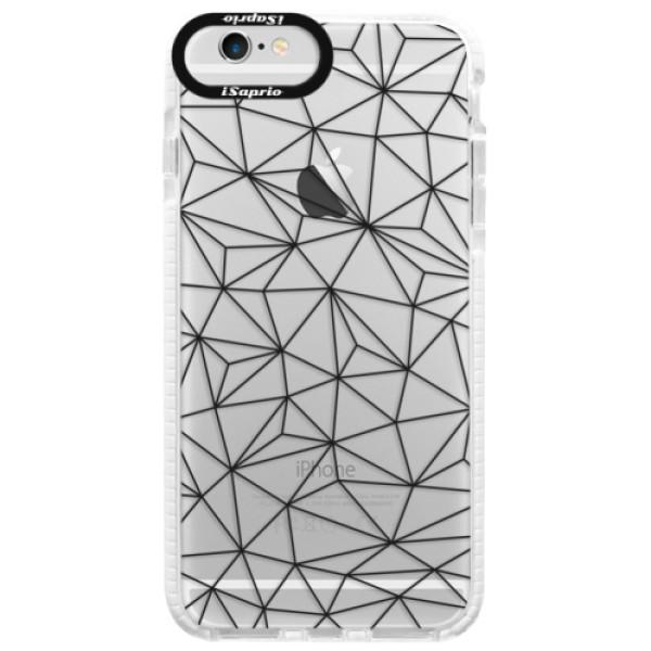Silikónové púzdro Bumper iSaprio - Abstract Triangles 03 - black - iPhone 6 Plus/6S Plus