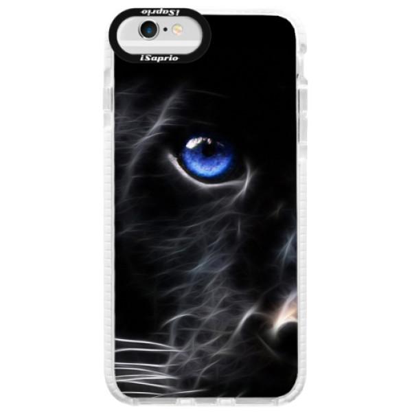 Silikónové púzdro Bumper iSaprio - Black Puma - iPhone 6 Plus/6S Plus