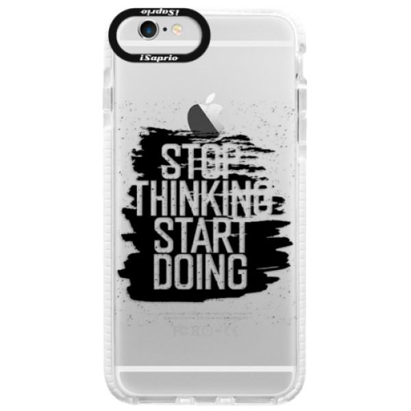 Silikónové púzdro Bumper iSaprio - Start Doing - black - iPhone 6 Plus/6S Plus