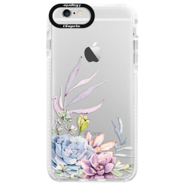 Silikónové púzdro Bumper iSaprio - Succulent 01 - iPhone 6 Plus/6S Plus