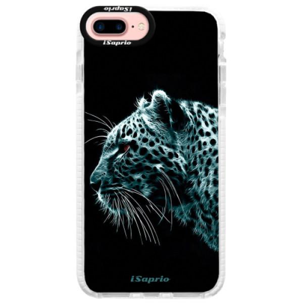 Silikónové púzdro Bumper iSaprio - Leopard 10 - iPhone 7 Plus