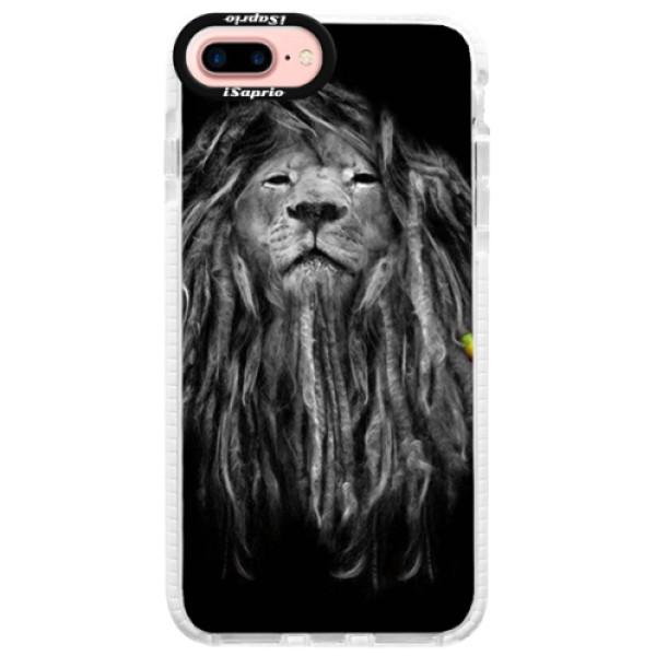 Silikónové púzdro Bumper iSaprio - Smoke 01 - iPhone 7 Plus