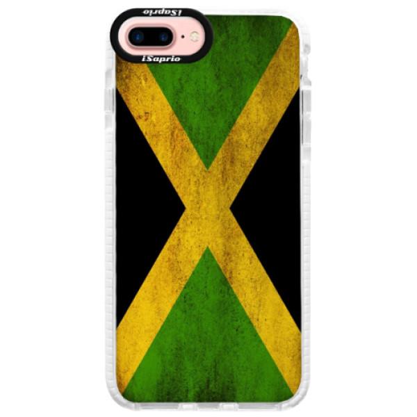 Silikónové púzdro Bumper iSaprio - Flag of Jamaica - iPhone 7 Plus