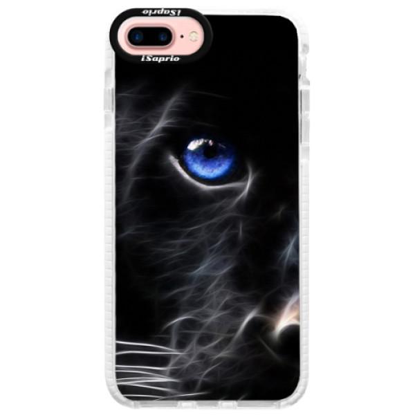 Silikónové púzdro Bumper iSaprio - Black Puma - iPhone 7 Plus