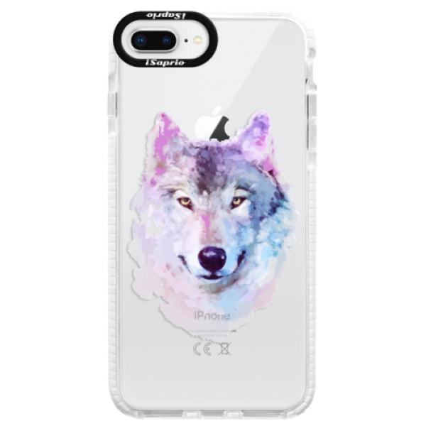 Silikónové púzdro Bumper iSaprio - Wolf 01 - iPhone 8 Plus