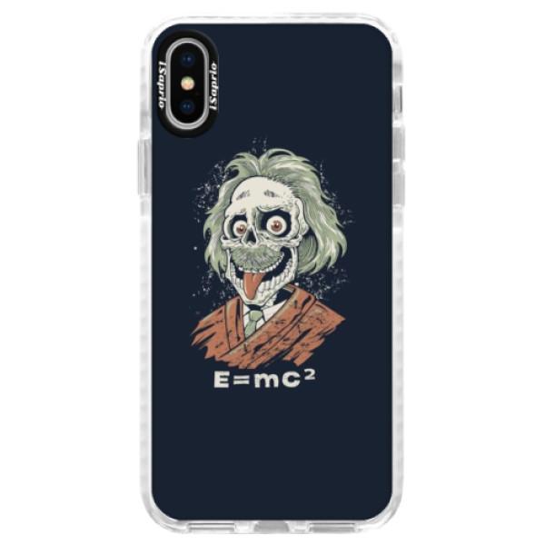 Silikónové púzdro Bumper iSaprio - Einstein 01 - iPhone X
