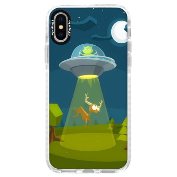 Silikónové púzdro Bumper iSaprio - Alien 01 - iPhone X