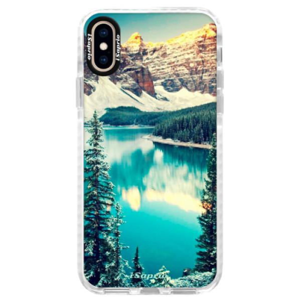 Silikónové púzdro Bumper iSaprio - Mountains 10 - iPhone XS