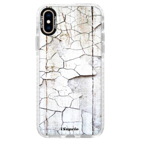 Silikónové púzdro Bumper iSaprio - Old Paint 10 - iPhone XS