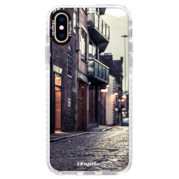 Silikónové púzdro Bumper iSaprio - Old Street 01 - iPhone XS