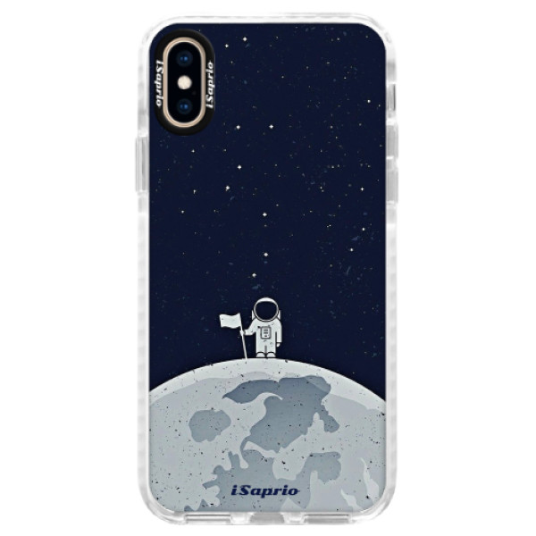 Silikónové púzdro Bumper iSaprio - On The Moon 10 - iPhone XS