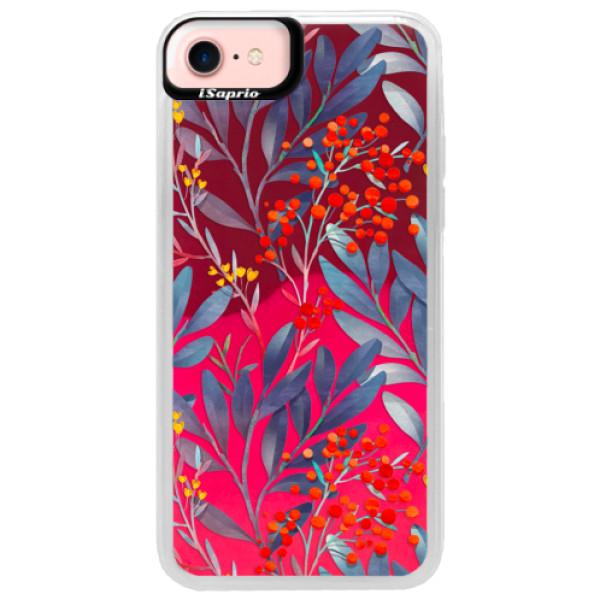 Neónové púzdro Pink iSaprio - Rowanberry - iPhone 7