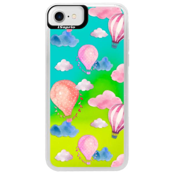 Neónové puzdro Blue iSaprio - Summer Sky - iPhone 7