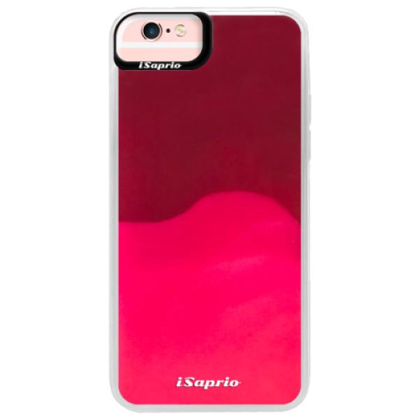 Neónové púzdro Pink iSaprio - 4Pure - mléčný bez potisku - iPhone 6 Plus/6S Plus