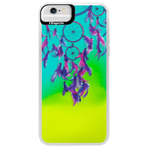 Neónové puzdro Blue iSaprio - Dreamcatcher 01 - iPhone 6 Plus/6S Plus