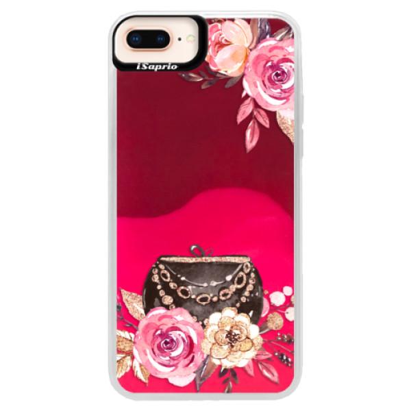 Neónové púzdro Pink iSaprio - Handbag 01 - iPhone 8 Plus