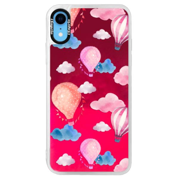 Neónové púzdro Pink iSaprio - Summer Sky - iPhone XR
