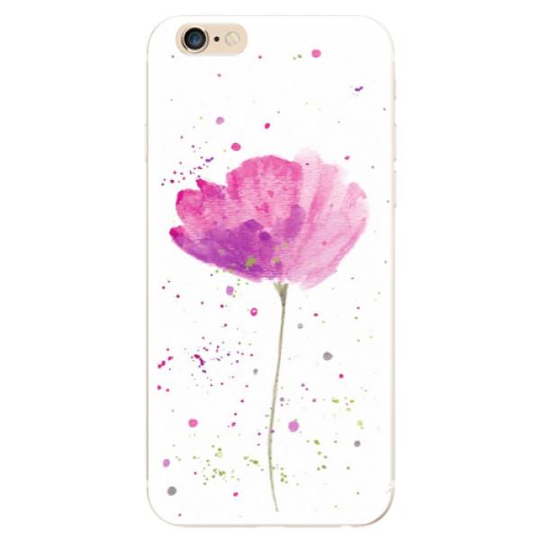 Odolné silikónové puzdro iSaprio - Poppies - iPhone 6/6S