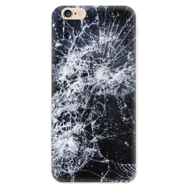 Odolné silikónové puzdro iSaprio - Cracked - iPhone 6/6S