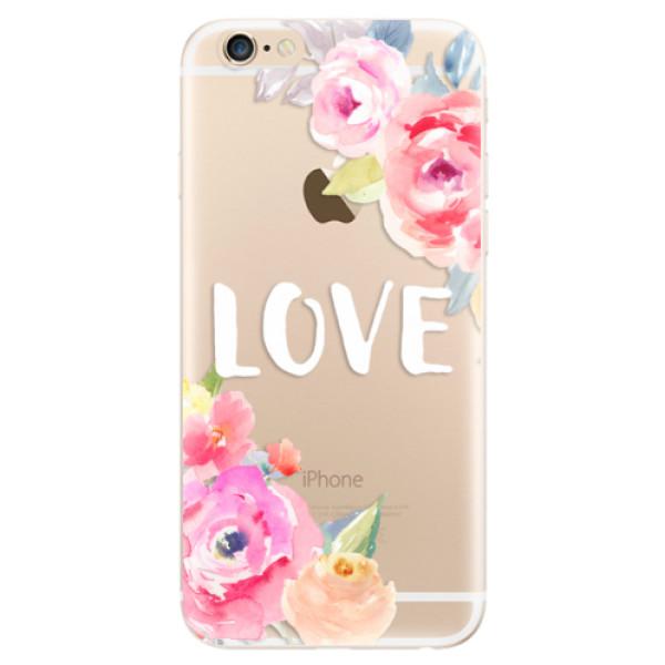 Odolné silikónové puzdro iSaprio - Love - iPhone 6/6S