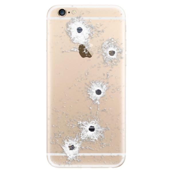 Odolné silikónové puzdro iSaprio - Gunshots - iPhone 6/6S