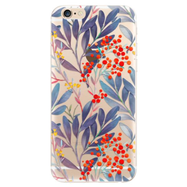 Odolné silikónové puzdro iSaprio - Rowanberry - iPhone 6/6S