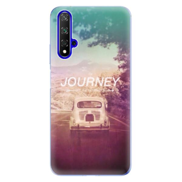 Odolné silikónové puzdro iSaprio - Journey - Huawei Honor 20