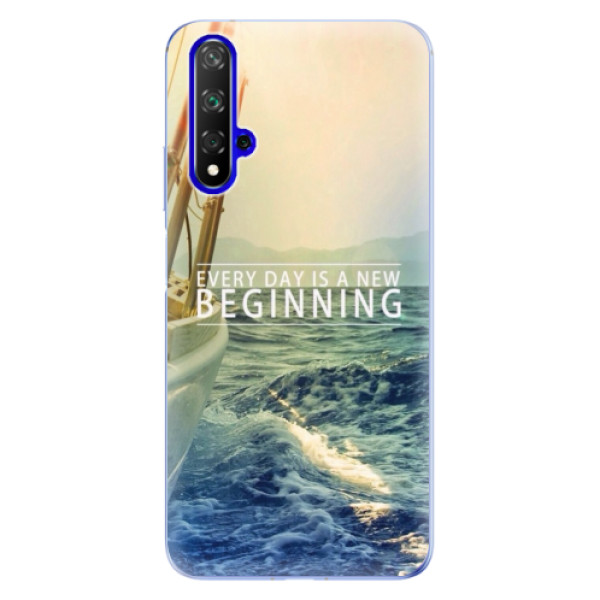 Odolné silikónové puzdro iSaprio - Beginning - Huawei Honor 20