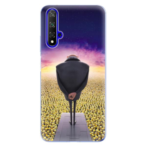 Odolné silikónové puzdro iSaprio - Gru - Huawei Honor 20