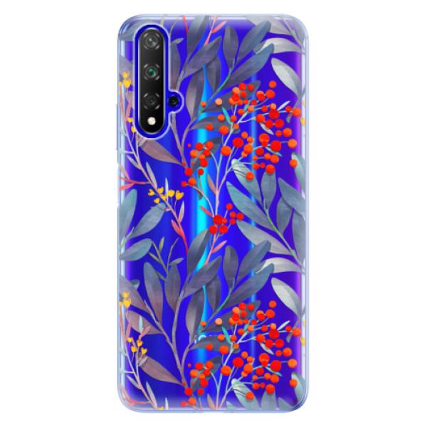 Odolné silikónové puzdro iSaprio - Rowanberry - Huawei Honor 20