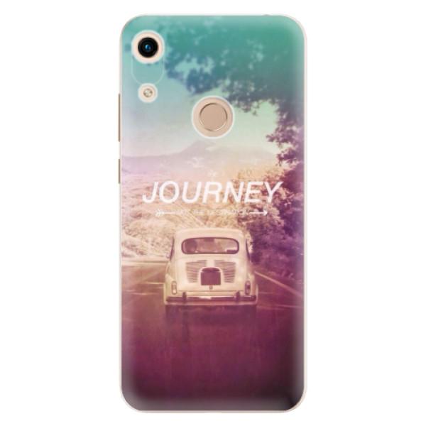 Odolné silikónové puzdro iSaprio - Journey - Huawei Honor 8A