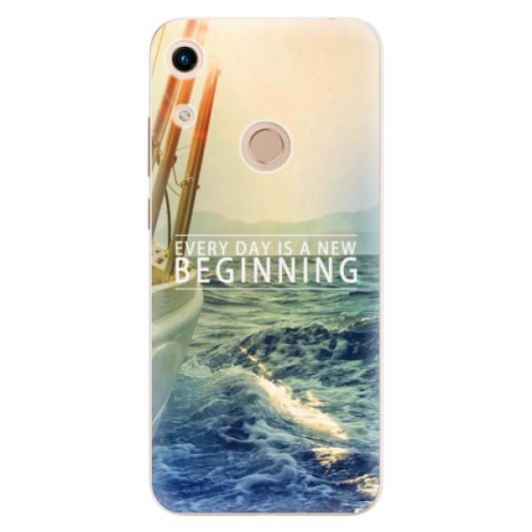 Odolné silikónové puzdro iSaprio - Beginning - Huawei Honor 8A