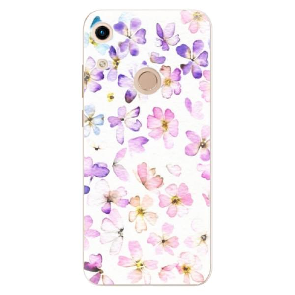 Odolné silikónové puzdro iSaprio - Wildflowers - Huawei Honor 8A