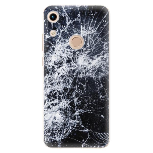 Odolné silikónové puzdro iSaprio - Cracked - Huawei Honor 8A