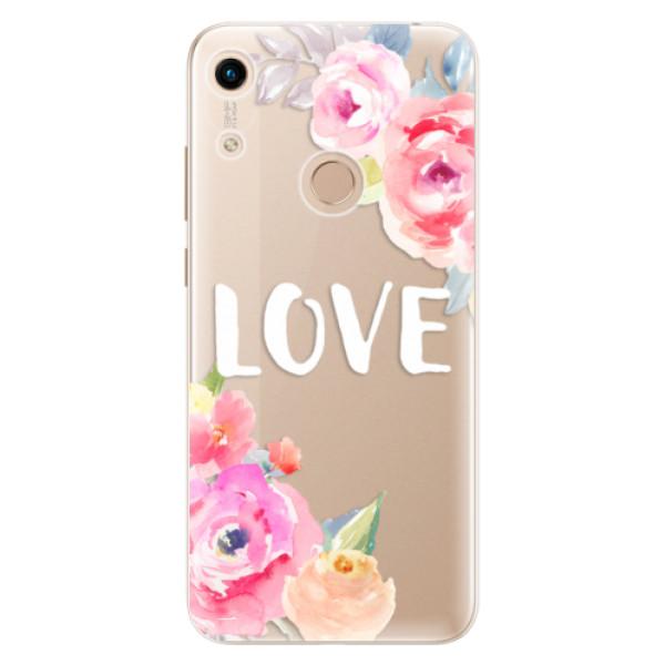 Odolné silikónové puzdro iSaprio - Love - Huawei Honor 8A