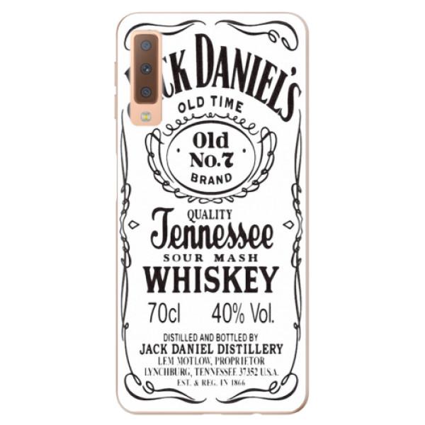 Odolné silikónové puzdro iSaprio - Jack White - Samsung Galaxy A7 (2018)