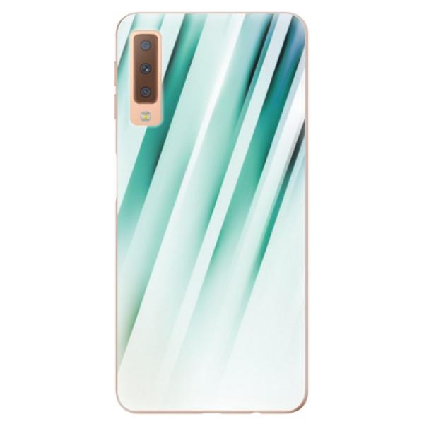Odolné silikónové puzdro iSaprio - Stripes of Glass - Samsung Galaxy A7 (2018)