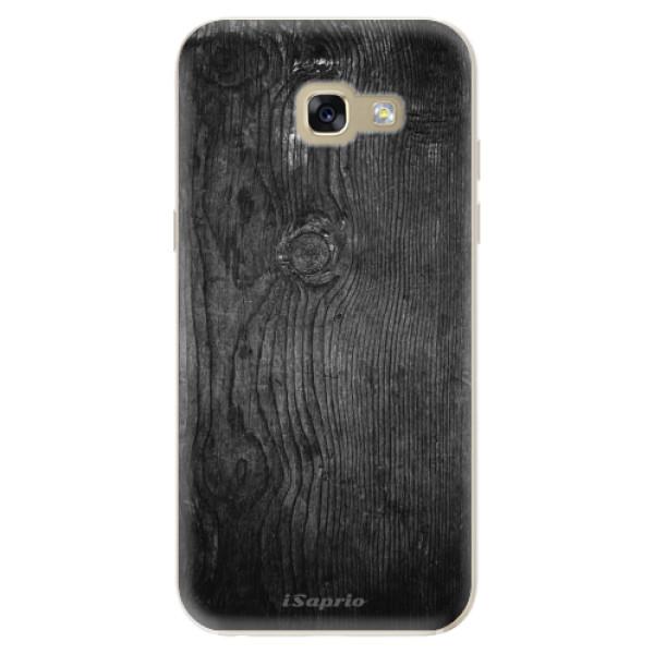 Odolné silikónové puzdro iSaprio - Black Wood 13 - Samsung Galaxy A5 2017