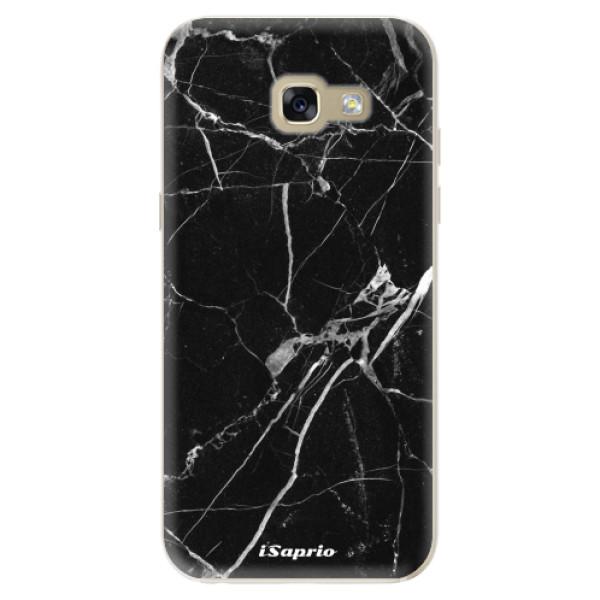 Odolné silikónové puzdro iSaprio - Black Marble 18 - Samsung Galaxy A5 2017