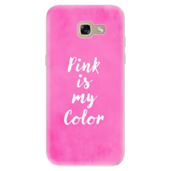 Odolné silikónové puzdro iSaprio - Pink is my color - Samsung Galaxy A5 2017
