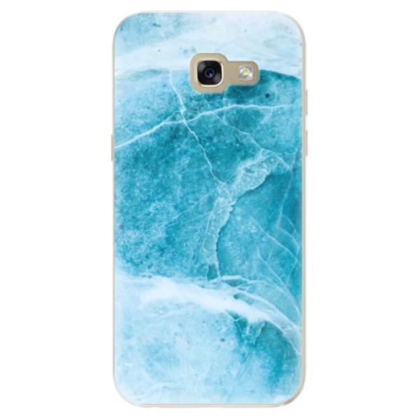 Odolné silikónové puzdro iSaprio - Blue Marble - Samsung Galaxy A5 2017