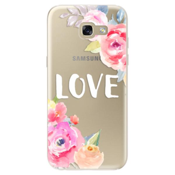 Odolné silikónové puzdro iSaprio - Love - Samsung Galaxy A5 2017