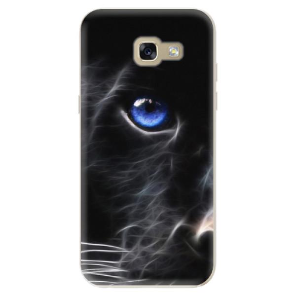 Odolné silikónové puzdro iSaprio - Black Puma - Samsung Galaxy A5 2017