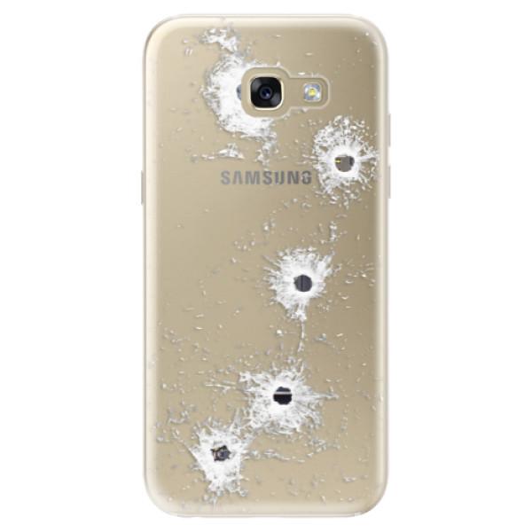 Odolné silikónové puzdro iSaprio - Gunshots - Samsung Galaxy A5 2017